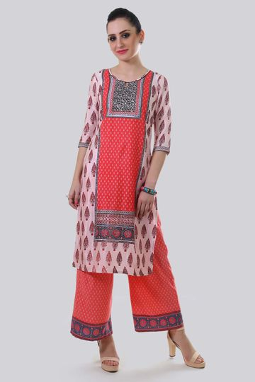 Aurelia | Aurelia Women Pink Color Kurta