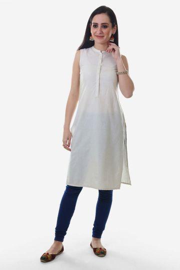 Aurelia | Aurelia Women White Color Kurta