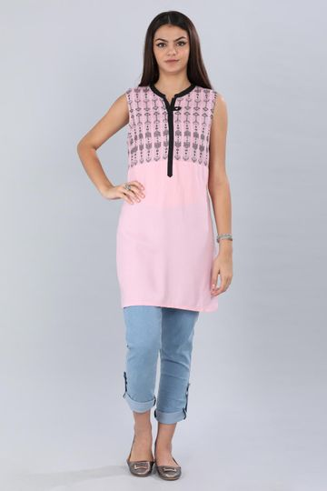 Aurelia | Aurelia Women Pink Color Kurti