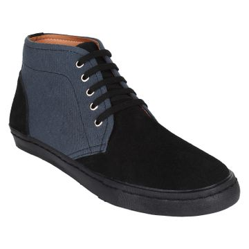 AADY AUSTIN | Aady Austin Cygnus High Top Shoes - Black