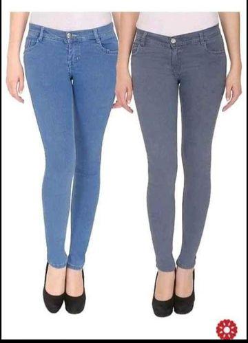 SIMARAA FAB | Simarra Fab Grey denim fit High rise jeans