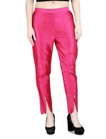 DEVS AND DIVAS | DEVS AND DIVAS Magenta Tulip Trouser for Women