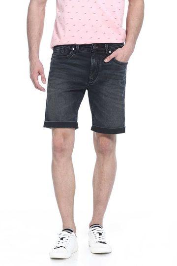 Basics   Basics Comfort Fit Total Eclipse Stretch Denim Shorts