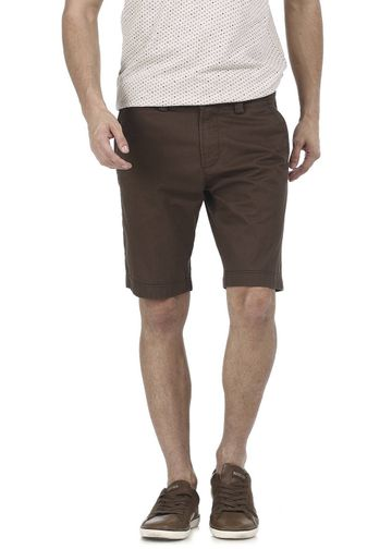 Basics | Basics Comfort Fit Canteen Brown Structure Shorts