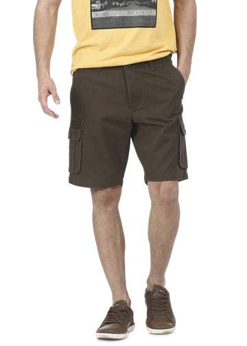 Basics | Basics Comfort Fit Military Olive 6 Pocket Cargo Shorts