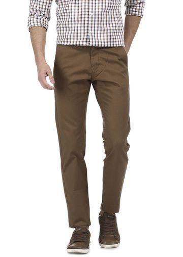 Basics | Basics Tapered Fit Desert Palm Dobby Trouser