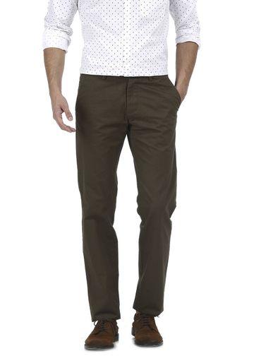 Basics | Basics Slim Fit Forest Night Structure Trouser