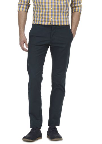 Basics | Basics Tapered Fit Darkest Spruce Satin Trouser