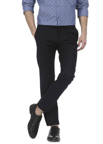 Basics | Basics Tapered Fit Anthracite Black Satin Trouser