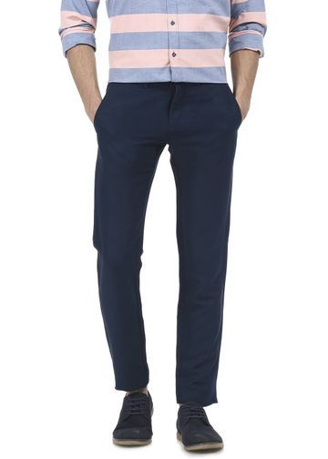Basics | Basics Tapered Fit Midnight Navy Trouser