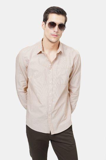 Basics | Basics Slim Fit Bleached Sand Fila Fil Shirt