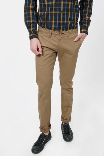 Basics | Basics Skinny Fit Toasted Khaki Stretch Trouser