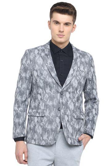 Basics | Basics Comfort Fit Drizzle 2 Button Knit Blazer