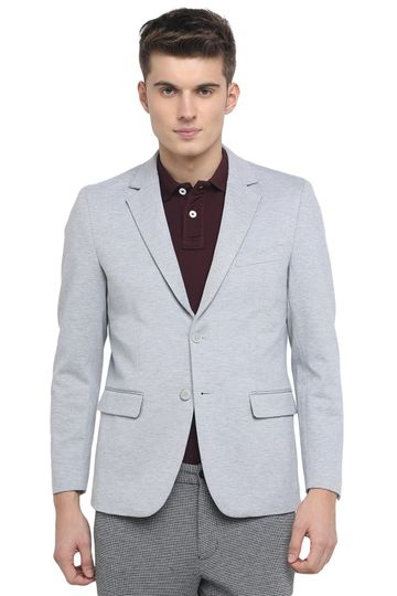 Basics | Basics Comfort Fit Ocean Dawn 2 Button Knit Blazer