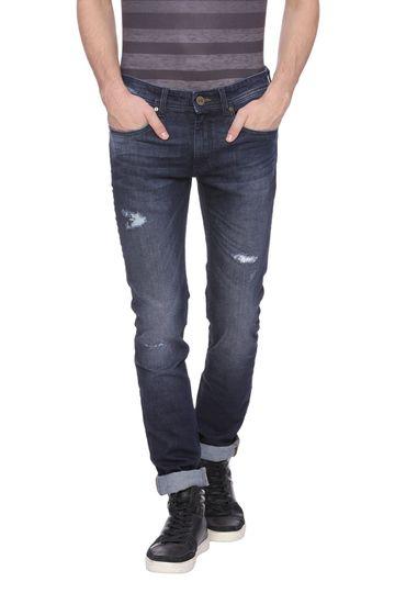 Basics | Basics Blade Fit Blue Nights Stretch Jean