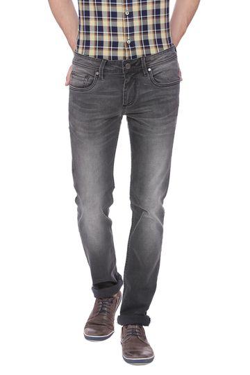 Basics | Basics Torque Fit Dark Shadow Stretch Jean
