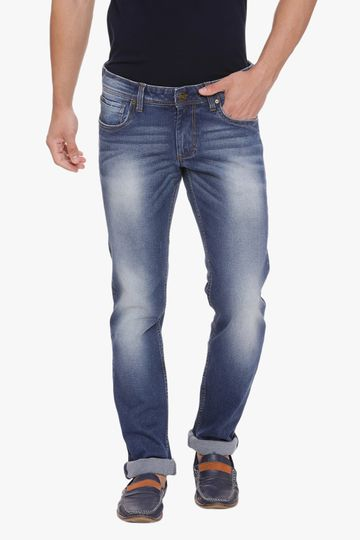 Basics | Basics Drift Fit Ensign Blue Stretch Jean