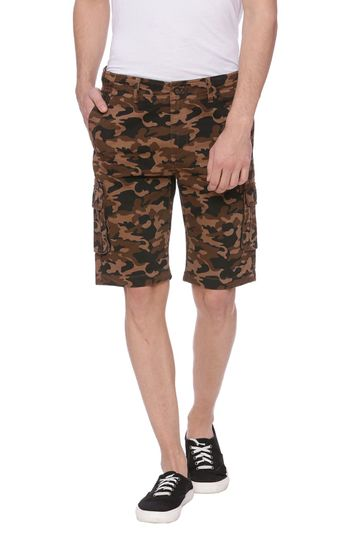 Basics | Basics Comfort Fit Otter Brown 6 Pocket Cargo Shorts