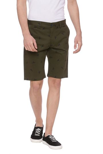Basics | Basics Comfort Fit Olive Night Shorts