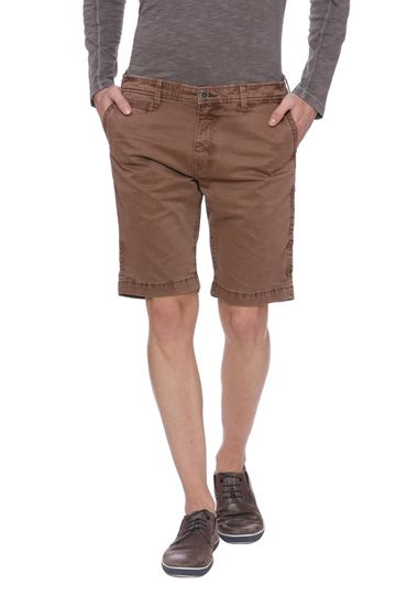 Basics | Basics Comfort Fit Cocoa Brown Shorts