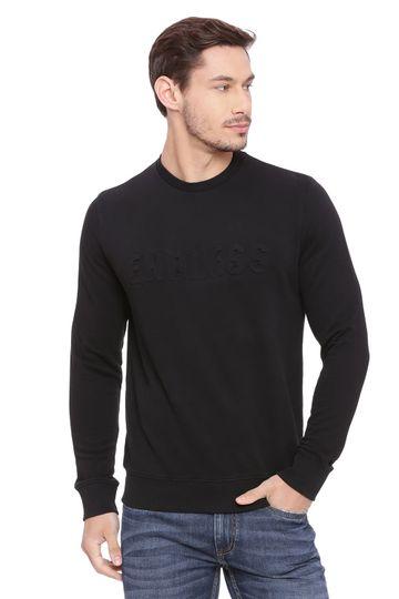 Basics | Basics Muscle Fit Jet Black Pullover Sweater