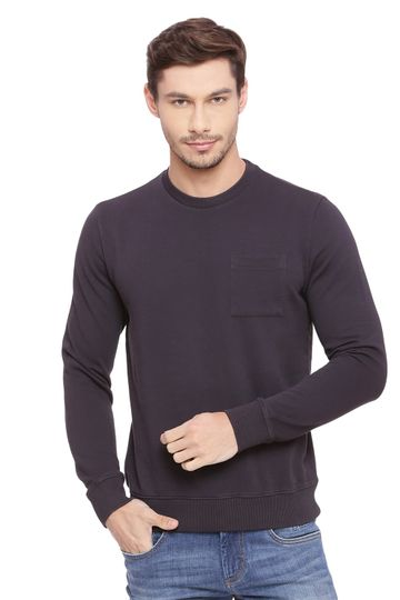 Basics | Basics Muscle Fit Graphite Pullover Sweater