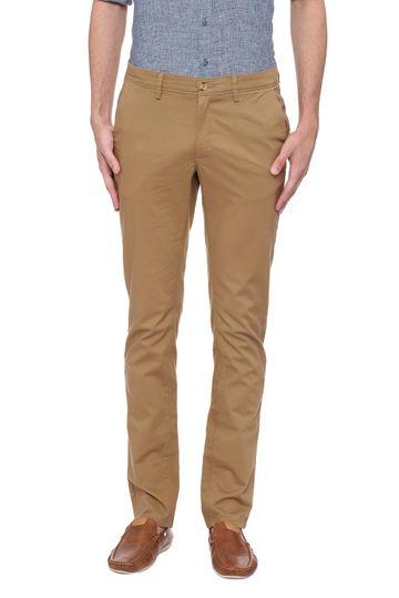 Basics   Basics Skinny Fit Tannin Khaki Stretch Trouser