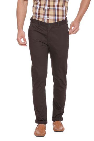 Basics | Basics Skinny Fit Beluga Grey Stretch Trouser