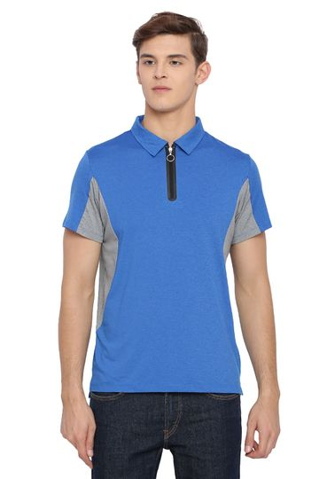 Basics | Basics Muscle Fit Strong Blue Polo T Shirt