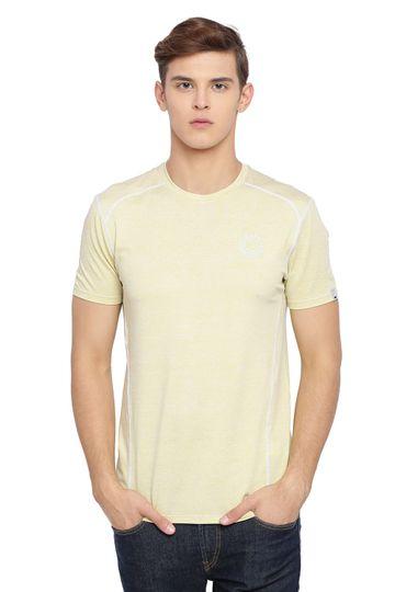 Basics | Basics Muscle Fit Lime Bean Crew Neck T Shirt