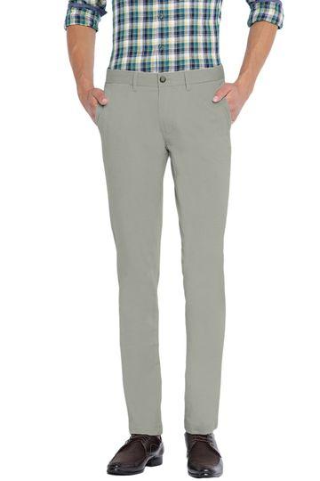 Basics | Basics Skinny Fit Agate Grey Stretch Trouser