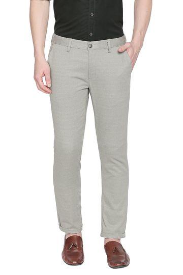 Basics   Basics Tapered Fit Agate Grey Stretch Trouser