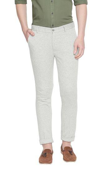 Basics | Basics Tapered Fit Silver Birech Knit Trouser