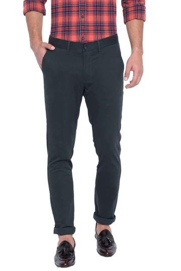 Basics | Basics Tapered Fit Orion Blue Stretch Trouser