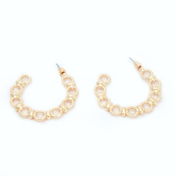 BELLEZIYA | Belleziya Gold Finish Drop Earrings Trendy Jewelry For Women/Girls