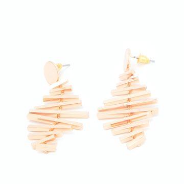 BELLEZIYA   Belleziya Gold Finish Modern & Trendy drop earrings for women & girls