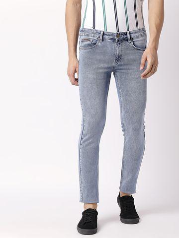 Bolts & Barrels | Bolts and Barrels Men Blue Slim Jeans