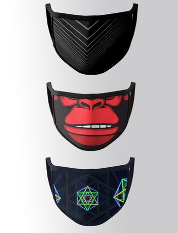 Bolts & Barrels | Designer Printed Two Layer Reusable Mask By Bolts & Barrels