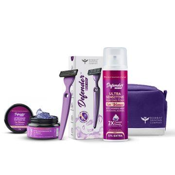 Bombay Shaving Company | Bombay Shaving Company Complete Shaving Regimen kit for Women