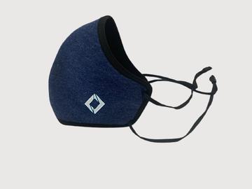 SOC PERFORMANCE |  Bristol Blue Reusable Mask with Headband Elastic Adjusters