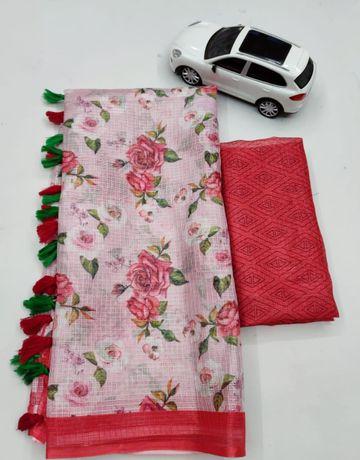 SATIMA | Satima Supar kota printed saree