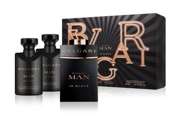 Bvlgari | Man In Black Gift Set (EDP60 ML and SG40 ML and ASB40 ML)(45935)