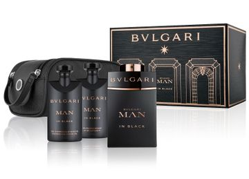 Bvlgari | Man In Black Gift Set (EDP100 ML and SSG75 ML and ASB75 ML and Pouch)(86517)