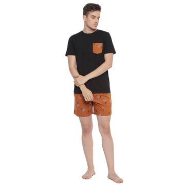 La Intimo   Skillful Serene Boxer TShirt Set
