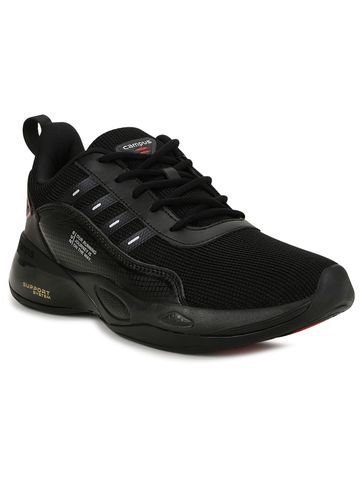 Campus Shoes | 5G-846_BLKRED