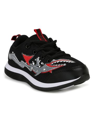 Campus Shoes | CS-104_BLKRED