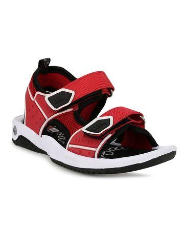 Campus Shoes | SL-04_REDBLK