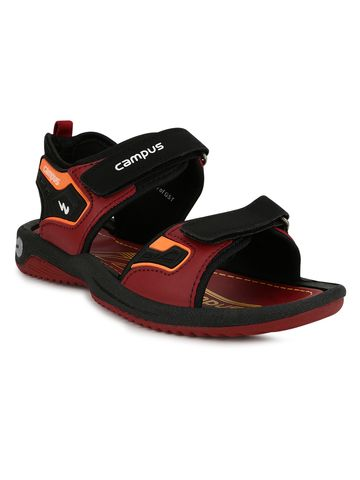 Campus Shoes | SL-07_BURGUNDYBLK