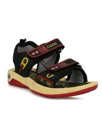 Campus Shoes | SL-210_BLKRED