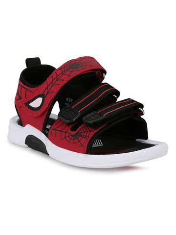 Campus Shoes | SMS-208_BLKRED